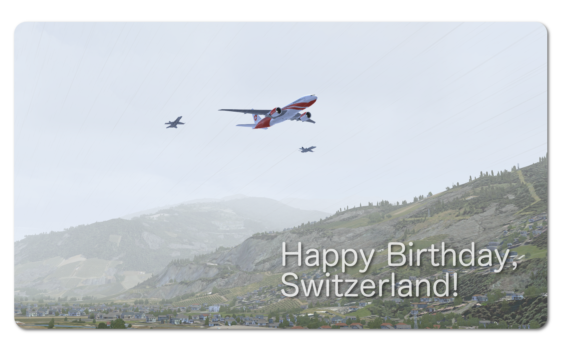 Swiss National Day – T-001 Presentation | DdD Flight Sim